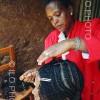 Ethiopian hairdresser