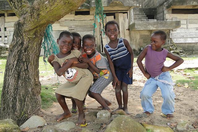 Ghanaian children