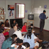 Women having literacy classes at Stung Treng Women's Development Centre, Cambodia